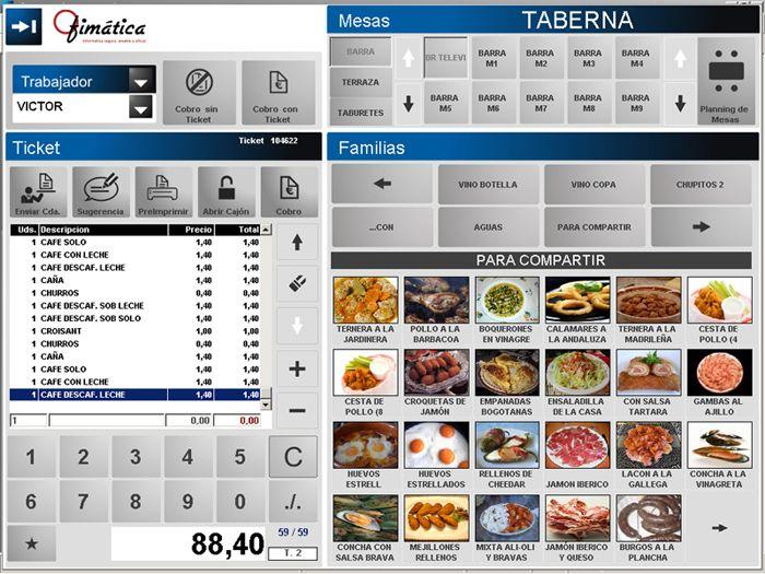 Software Restaurante Software Bar Software Tpv Ofibarman